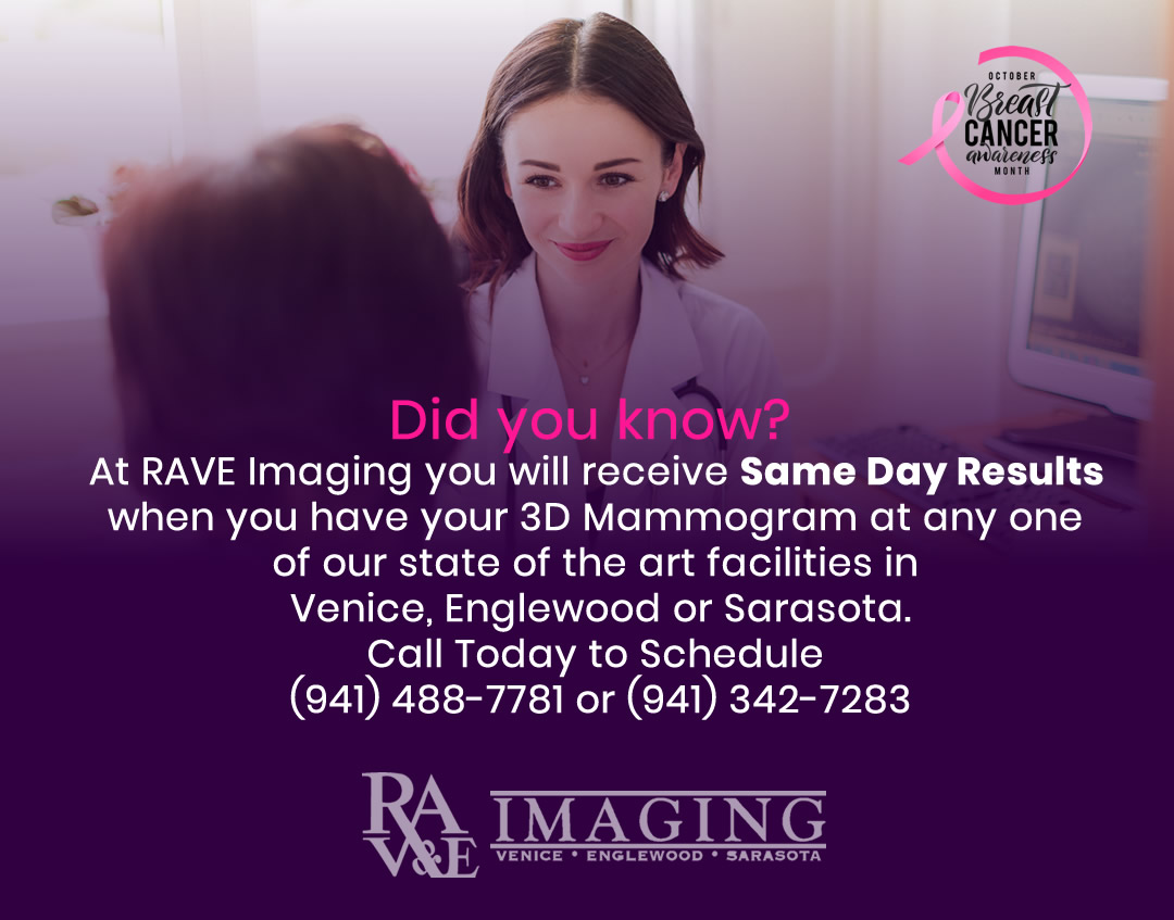Same Day Results when getting your mammogram